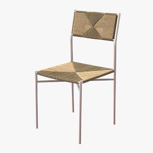 chair rose uniacke 3D model