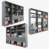 3D usm storage modular model