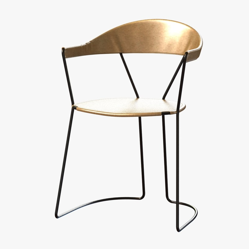 chair y weed rose 3D