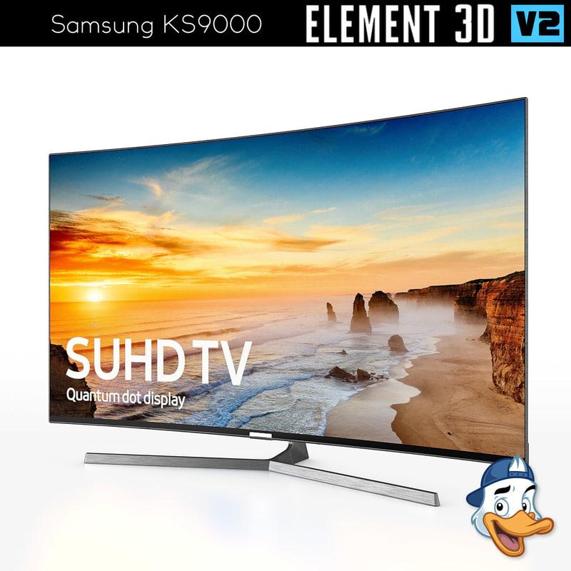 samsung ks9000 element 3D