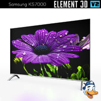 samsung ks7000 element 3D model