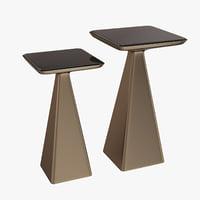 holly hunt goblet table 3D model