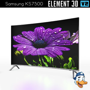 3D samsung ks7500 element