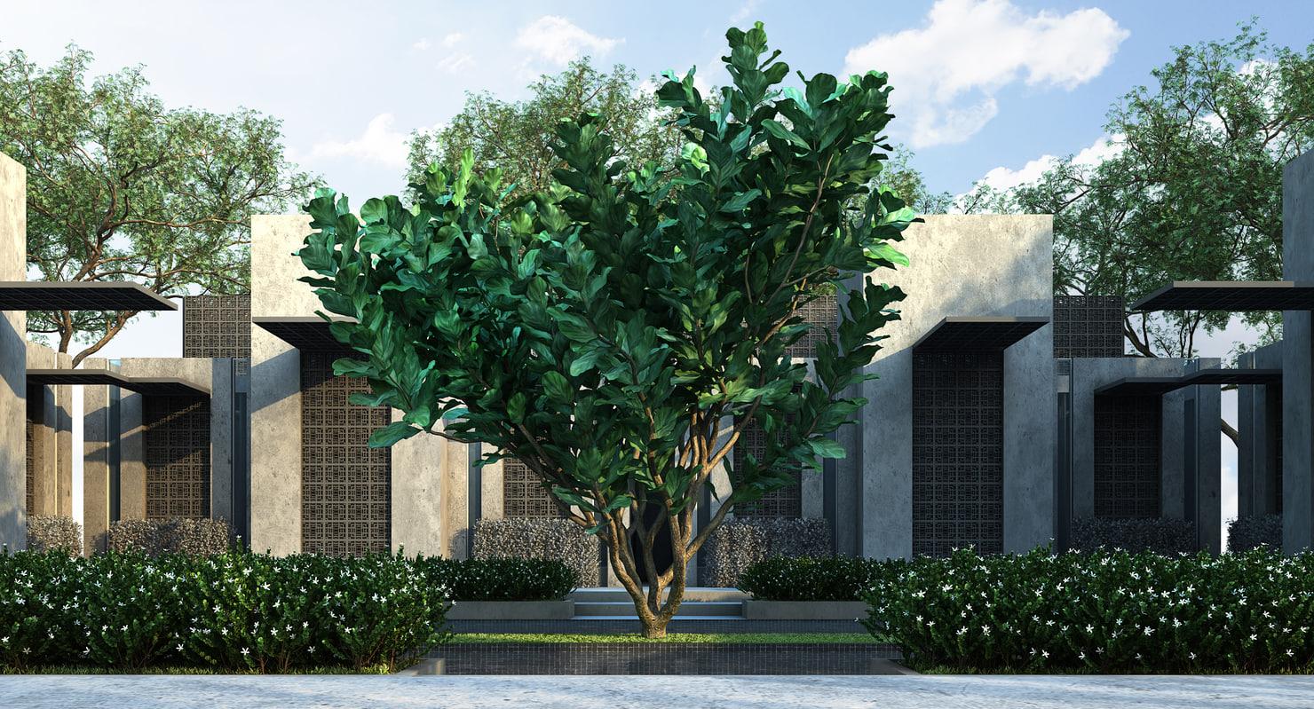 3D model 2 tree