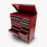 mechanics tool chest box 3D model