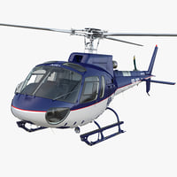 Light Utility Helicopter Eurocopter AS 350