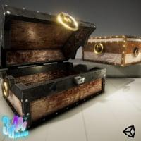 3D model strong iron chest crane