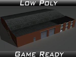 factory building 21 3D
