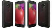3D motorola moto e4 licorice model