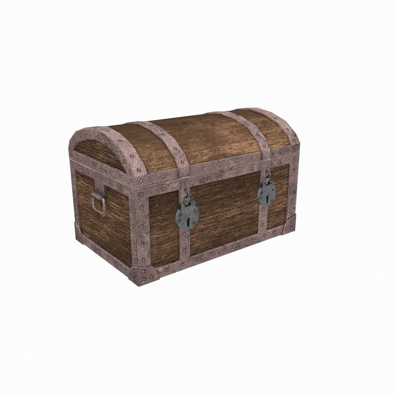 chest pirate 3D