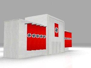 3D building nazism