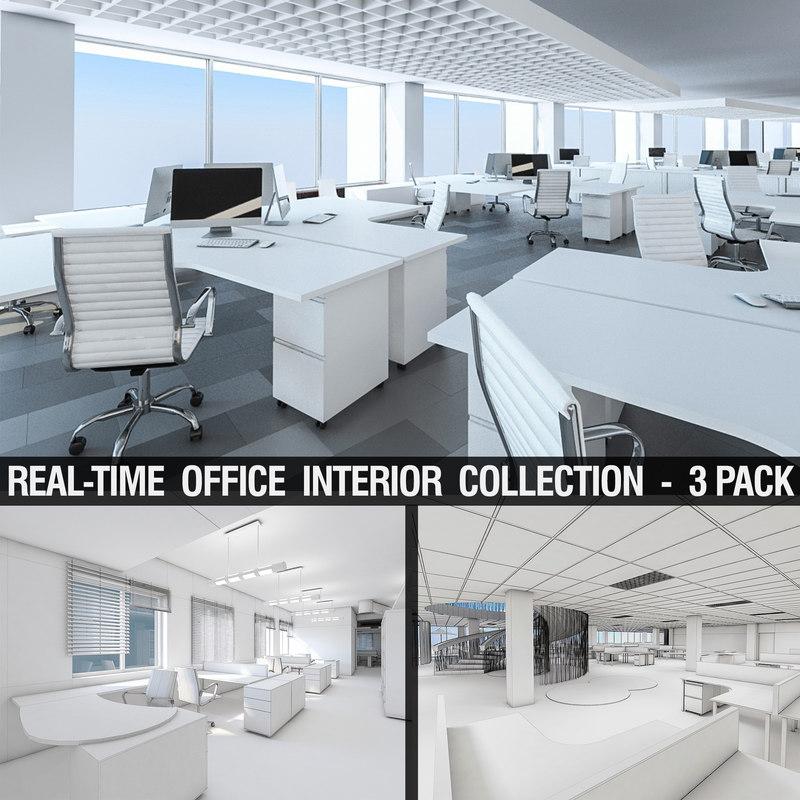 office interiors 3D model