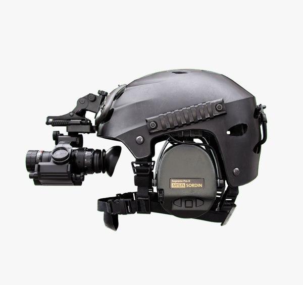 helmet mount night 3D