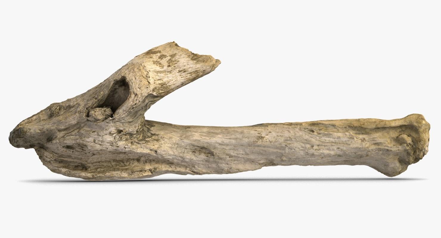3D wood 2 model