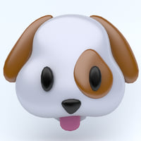 icon emojis 3D model