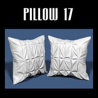 3D pillow interiors