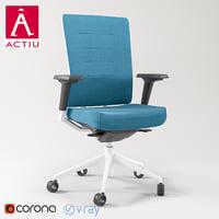 actiu chair tnk 3D model