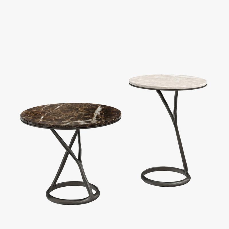 poliform marble table 3D