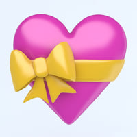 HEART with bow icon