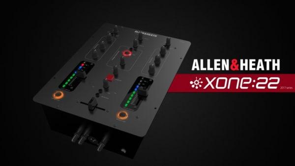 3D allen xone 22 mixer model