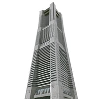 yokohama landmark tower 3D model
