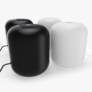 apple homepod 3D model