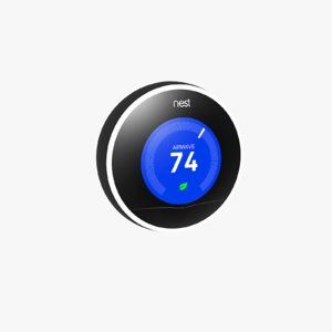 nest learning thermostats 3D model