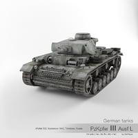 German tank PzKpfw III Ausf L '102'
