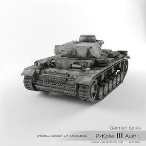 3D model sd iii ausf l