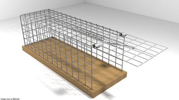 cages trap 3D model