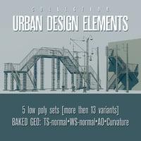 urban design 3D model