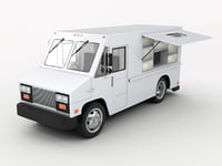 3D gmc cargo truck