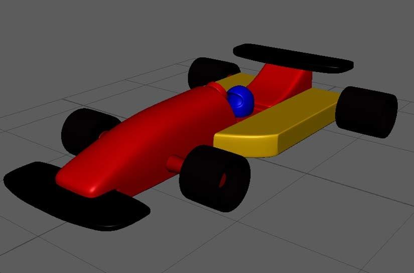 3D toy car 1