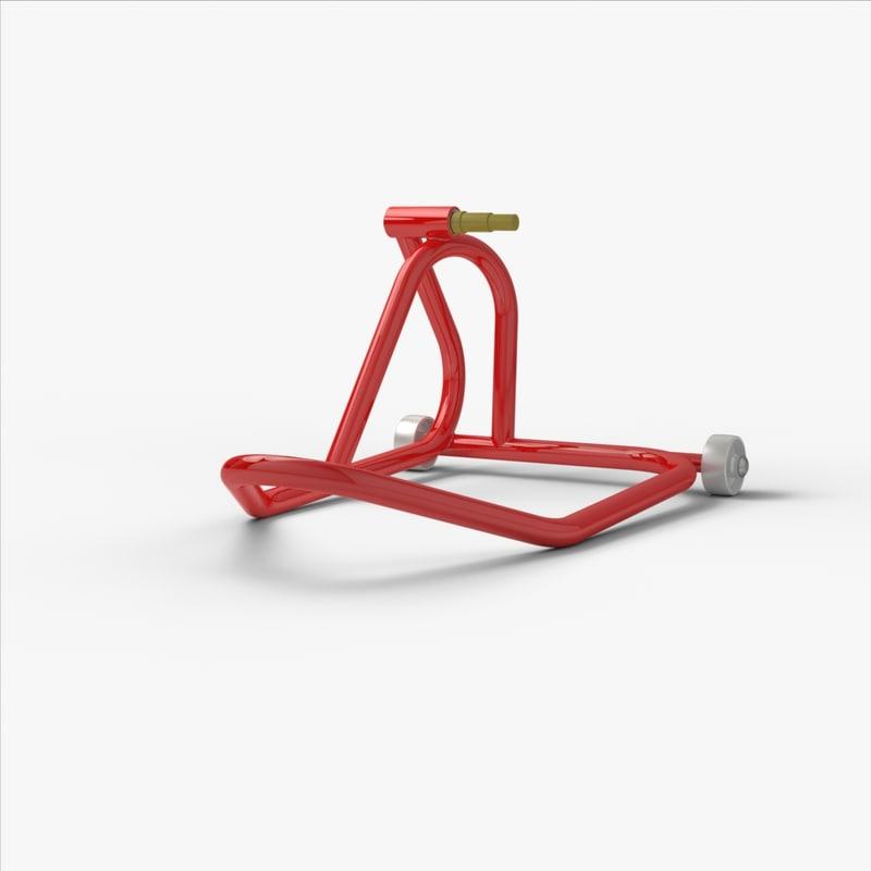 3D paddock stand model