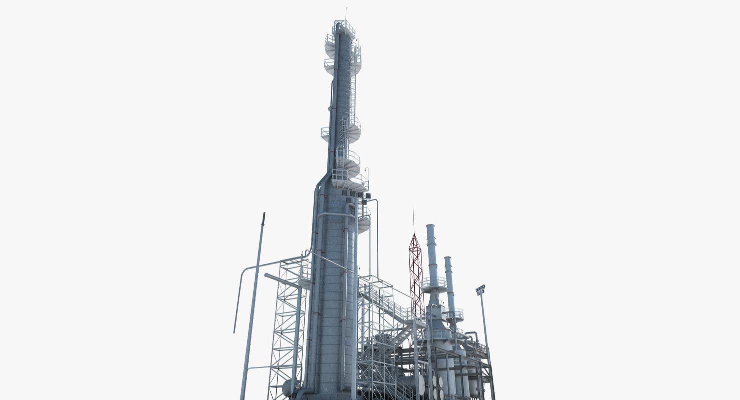 zone 7 1 refinery 3D model