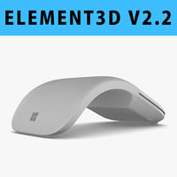 E3D - Microsoft Surface Arc Mouse