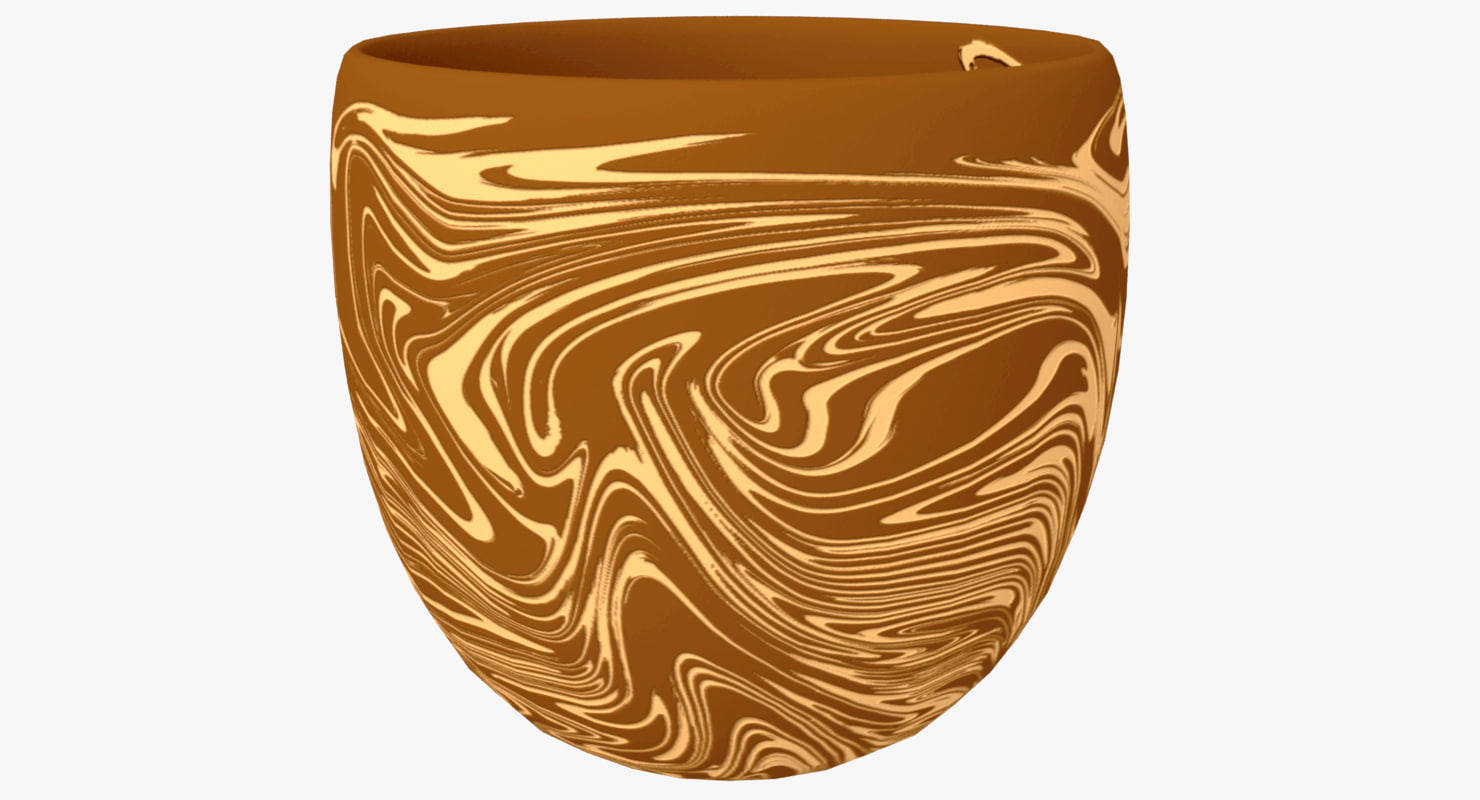 pottery cup 3D model