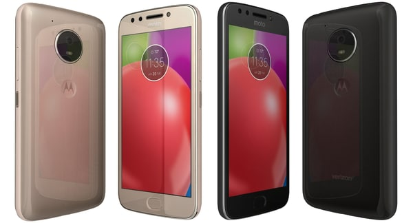 motorola moto e4 colors 3D model