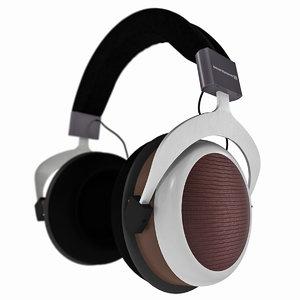 3D beyerdynamic headphones