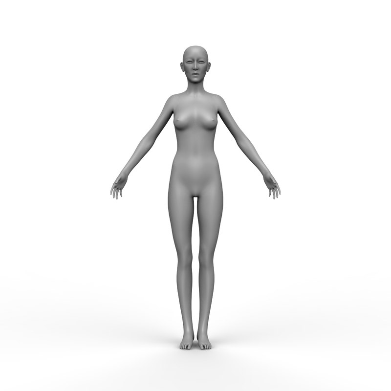 female ztl 3D model