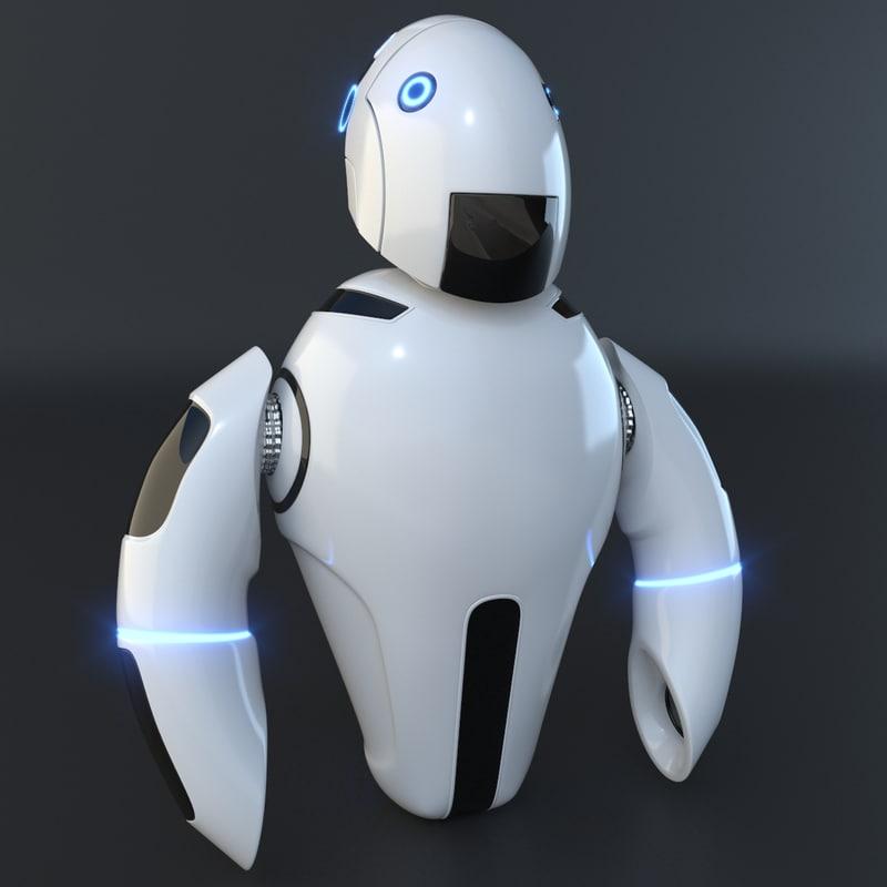 robot flying model