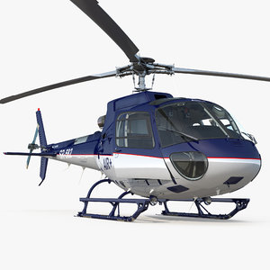 3D light utility helicopter eurocopter