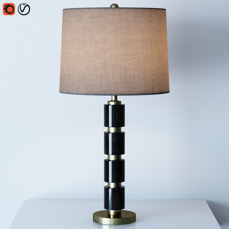 3D overton table lamp