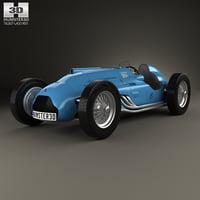 talbot-lago t26c t26 3D model
