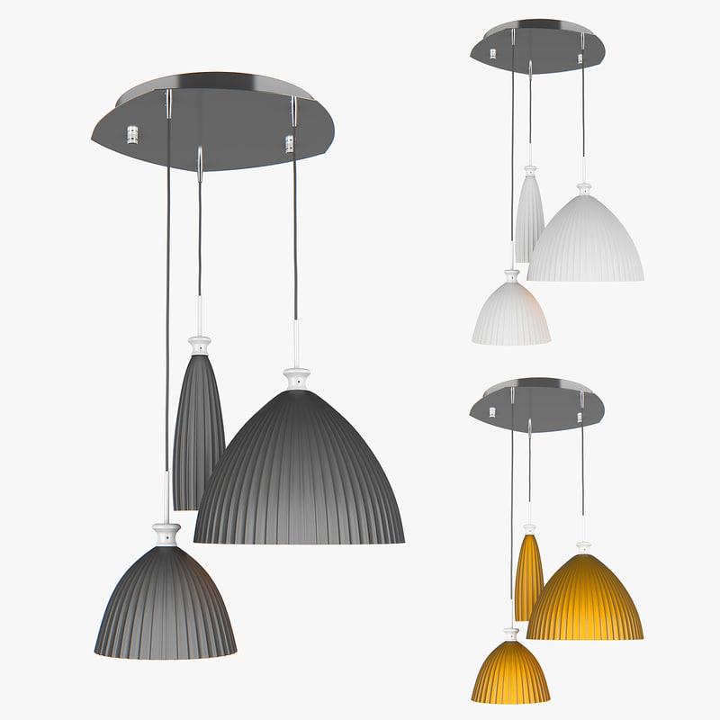 3D chandelier agola lightstar model