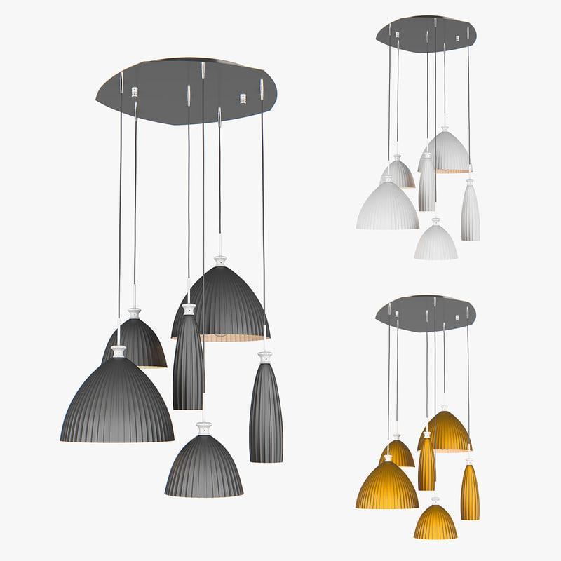 chandelier agola lightstar 3D model