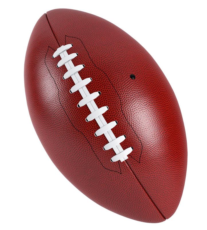 football ball america 3D