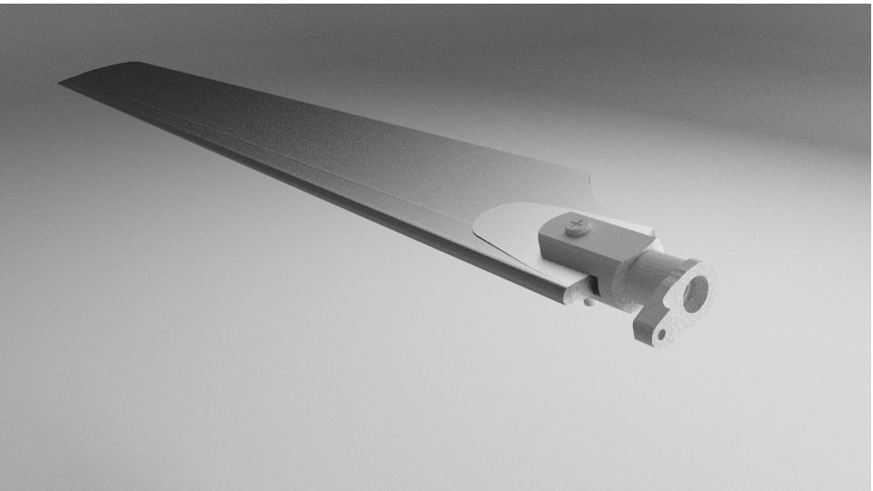 helicopter blade 3D