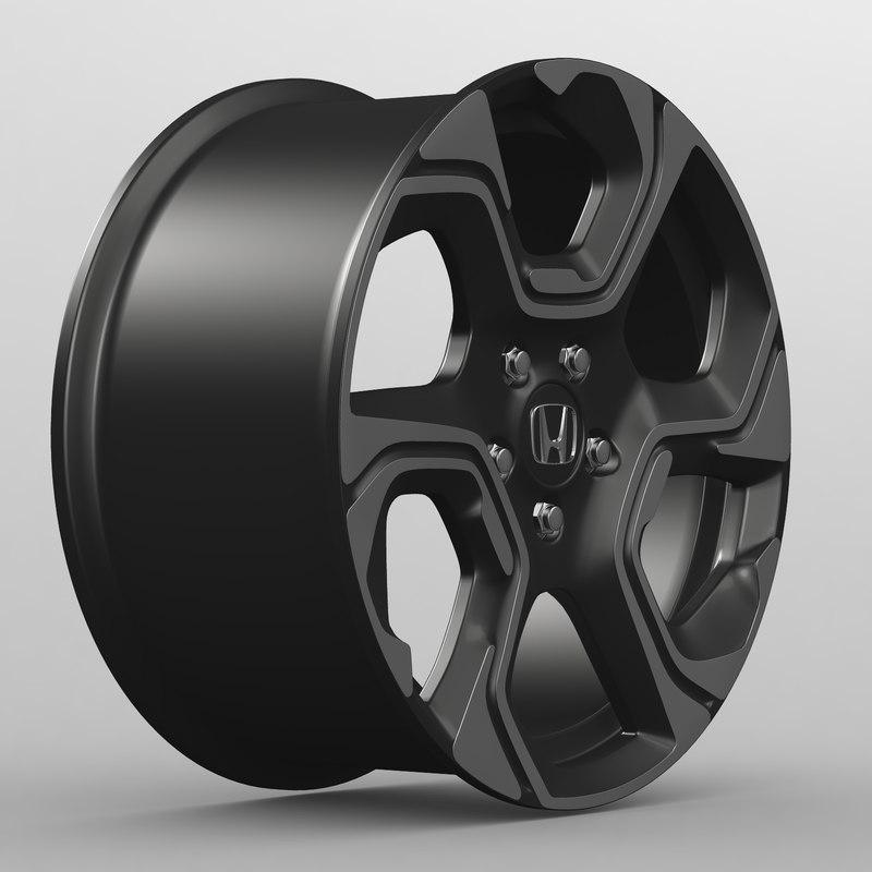 2017 cr v 3D model