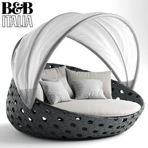 bebitalia sofa 3D model